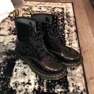 Patent Leather Black Dr.Marten Boots